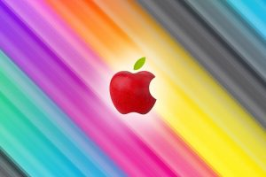 Multicolor Apple HD