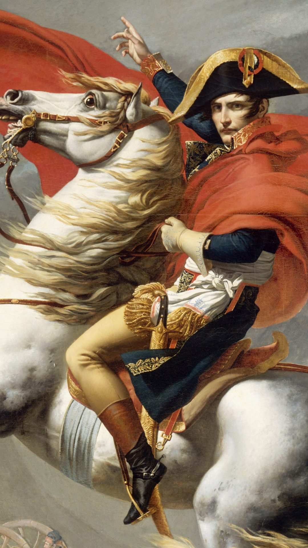 Napoleon Crossing The Alps 2 4k Uhd Wallpaper