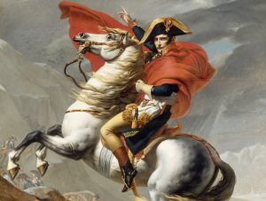 Napoleon Crossing the Alps (First Versailles Version) 4K
