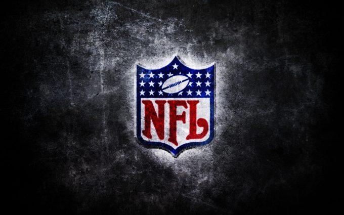 National Football League Logo Grunge