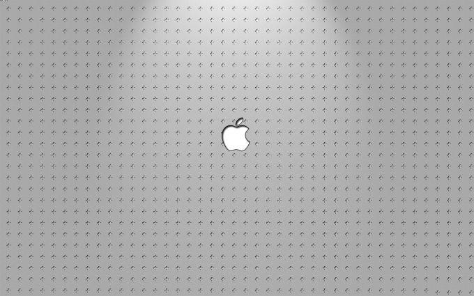Silver Apple Logo