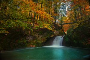 Small Waterfall Autumn