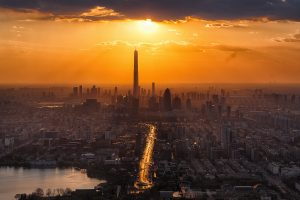 Tianjin At Twilight (China) 7K
