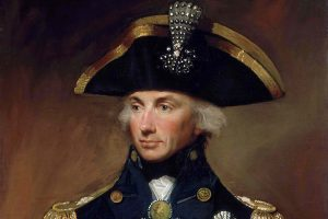 Portrait of Vice-Admiral Horatio Nelson HD