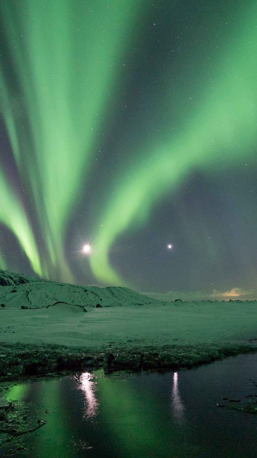 Aurora Borealis 4K UHD Wallpaper