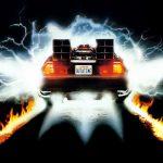 Back to the Future 1985 DeLorean