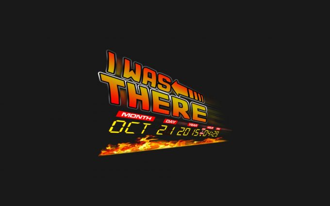 Back to the Future I Was There