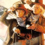 Back to the Future Part III 1990 Marty McFly Doc Brown