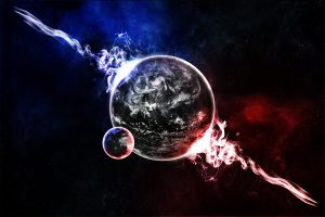 Blue Planet Explosion 5K