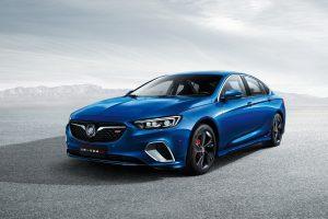 Buick Regal GS 2017 (Blue) 4K