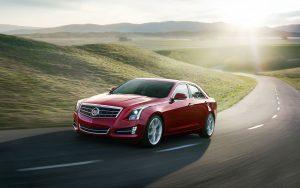 Cadillac ATS 2013 (Red) HD