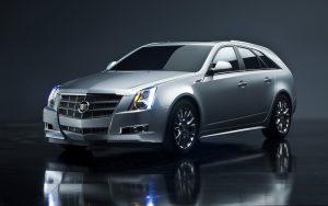 Cadillac CTS Sport Wagon 2014 (Silver) HD