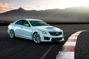 Cadillac CTS V 2017 (White) HD