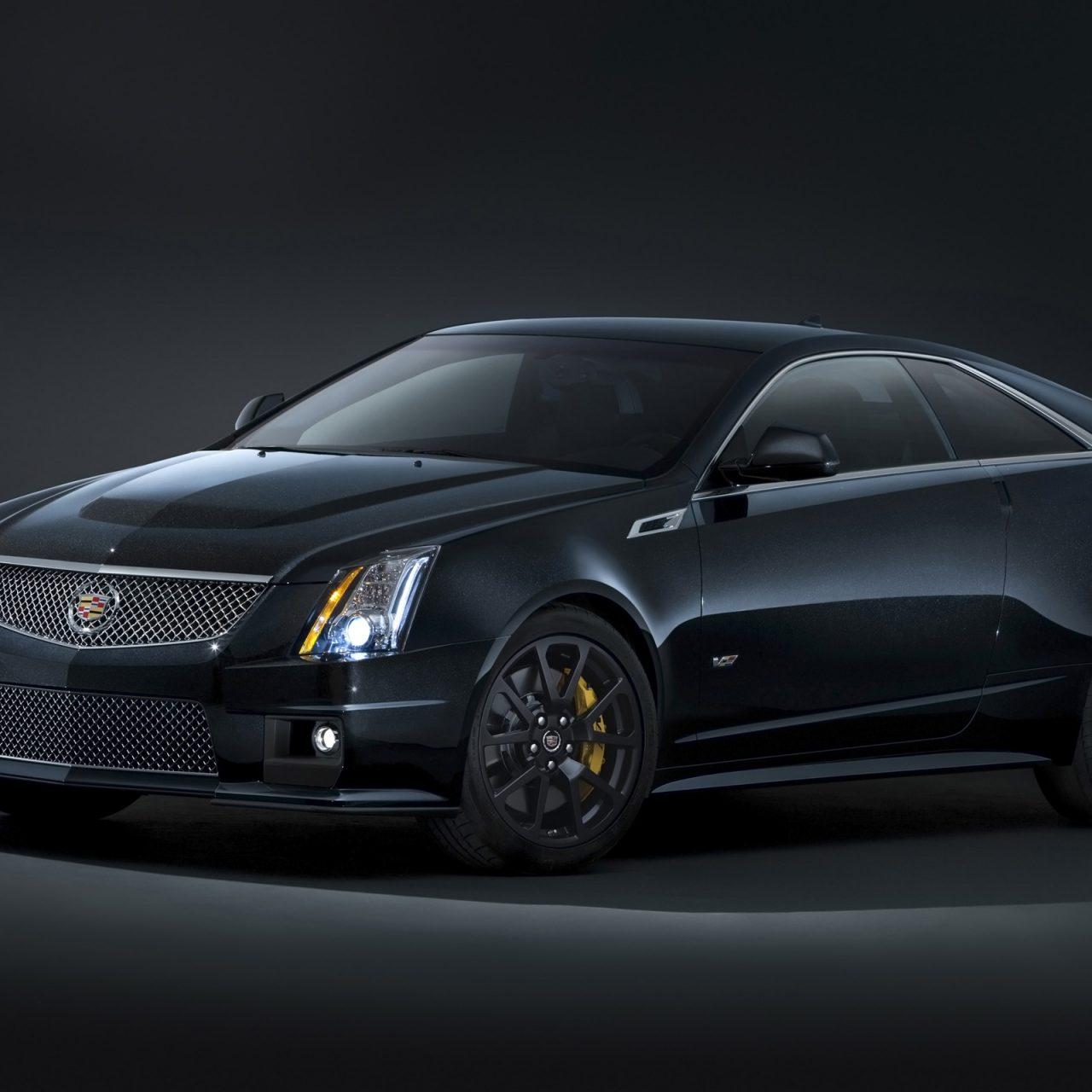 Cadillac CTS-V Coupe 2014 01 (Black) HD Wallpaper