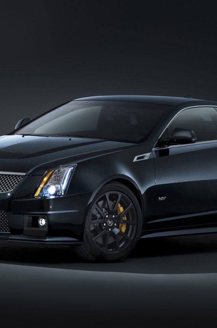 Cadillac CTS V Coupe 21 21 Black HD Wallpaper