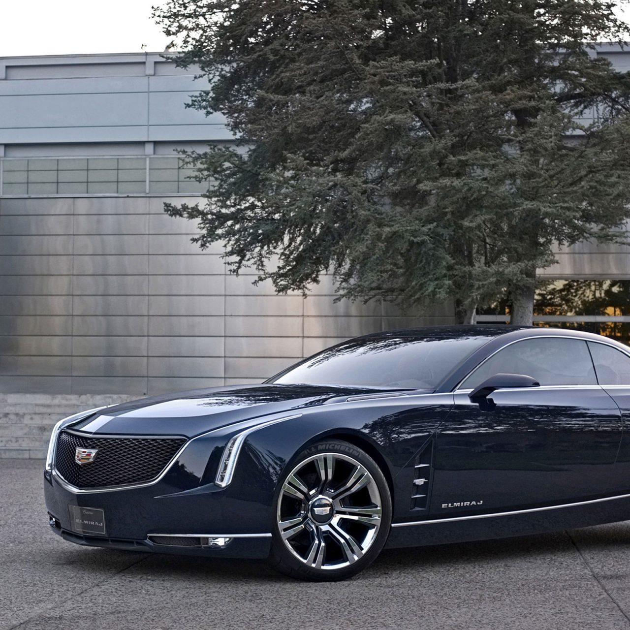Cadillac Elmiraj Concept 2013 (Dark Blue) HD Wallpaper