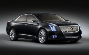 Cadillac XTS Platinum Concept 2010 (Black) HD