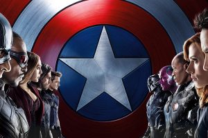 Captain America Civil War 2016 Face Off 8K