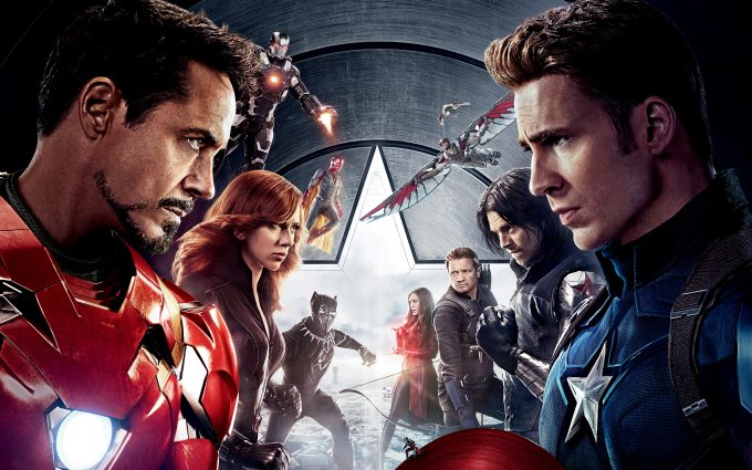 Captain America Civil War 2016 Fight 8K