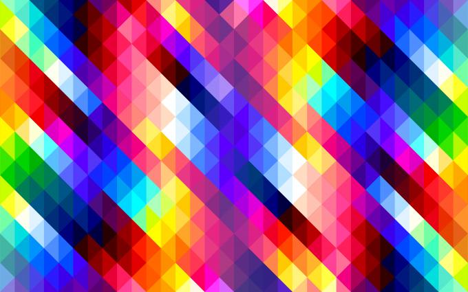 Colorful Diamonds Pattern