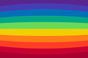 Digital Rainbow Background 6K