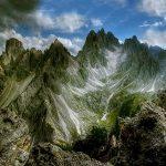 Dolomites Mountains Cadini di Misurina