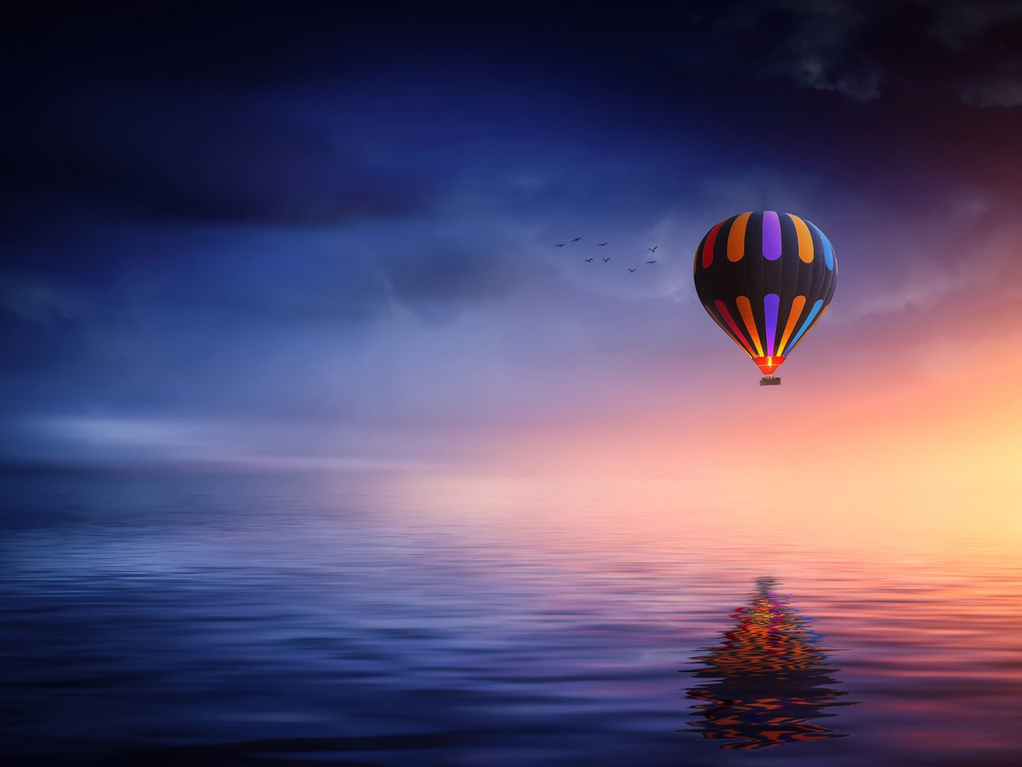 3D Hot Air Balloon Screen Saver 1.1 Free Download