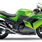 Kawasaki ZZR 1400CC Green