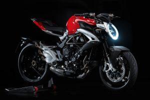 Mv Agusta Brutale 800 2016 (Red) 4K