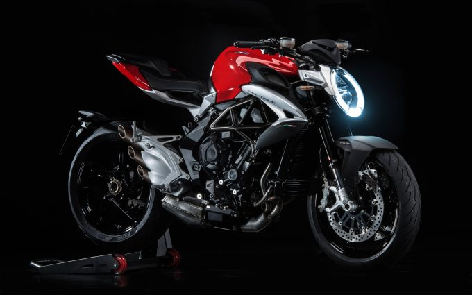 Mv Agusta Brutale 800 2016 Red 4K