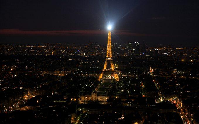 Paris At Night 4K