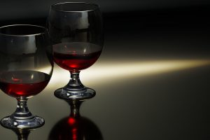 Red Wine Glasses 4K