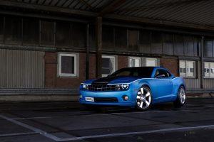 SchwabenFolia Chevrolet Camaro SS 2013 (Blue) HD