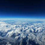 The Pyrenees Mountains Seen From Above