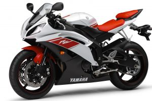 Yamaha R6 2009 01 (Red & White) HD