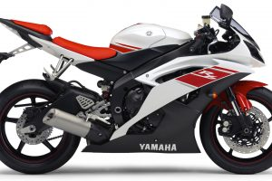 Yamaha R6 2009 02 (Red & White) HD