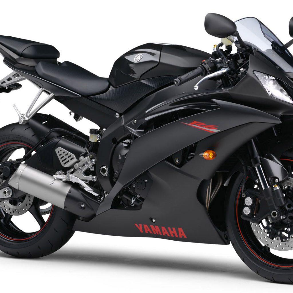 Yamaha R6 (Black) HD Wallpaper