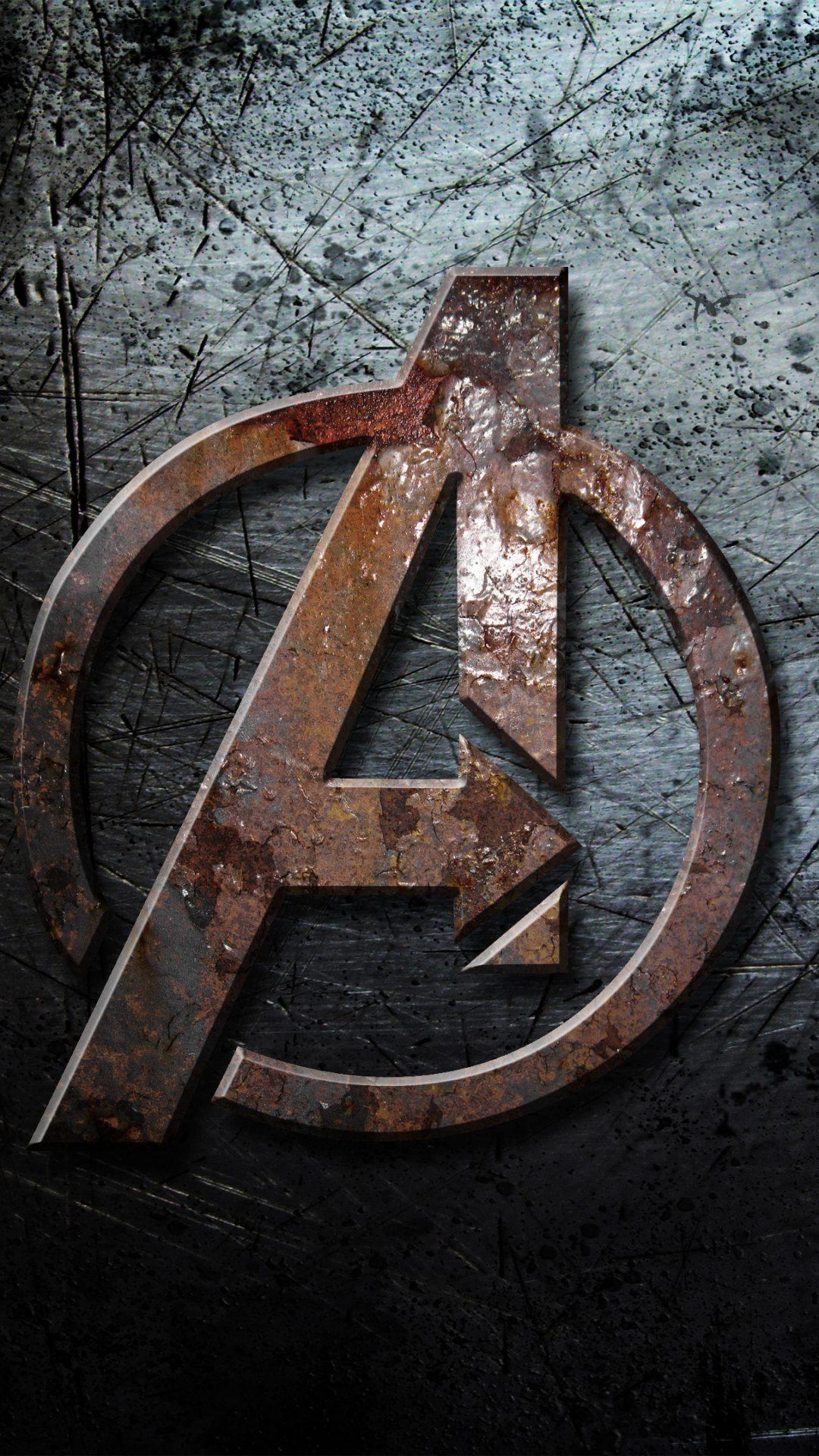 Avengers Logo 4k Uhd Wallpaper