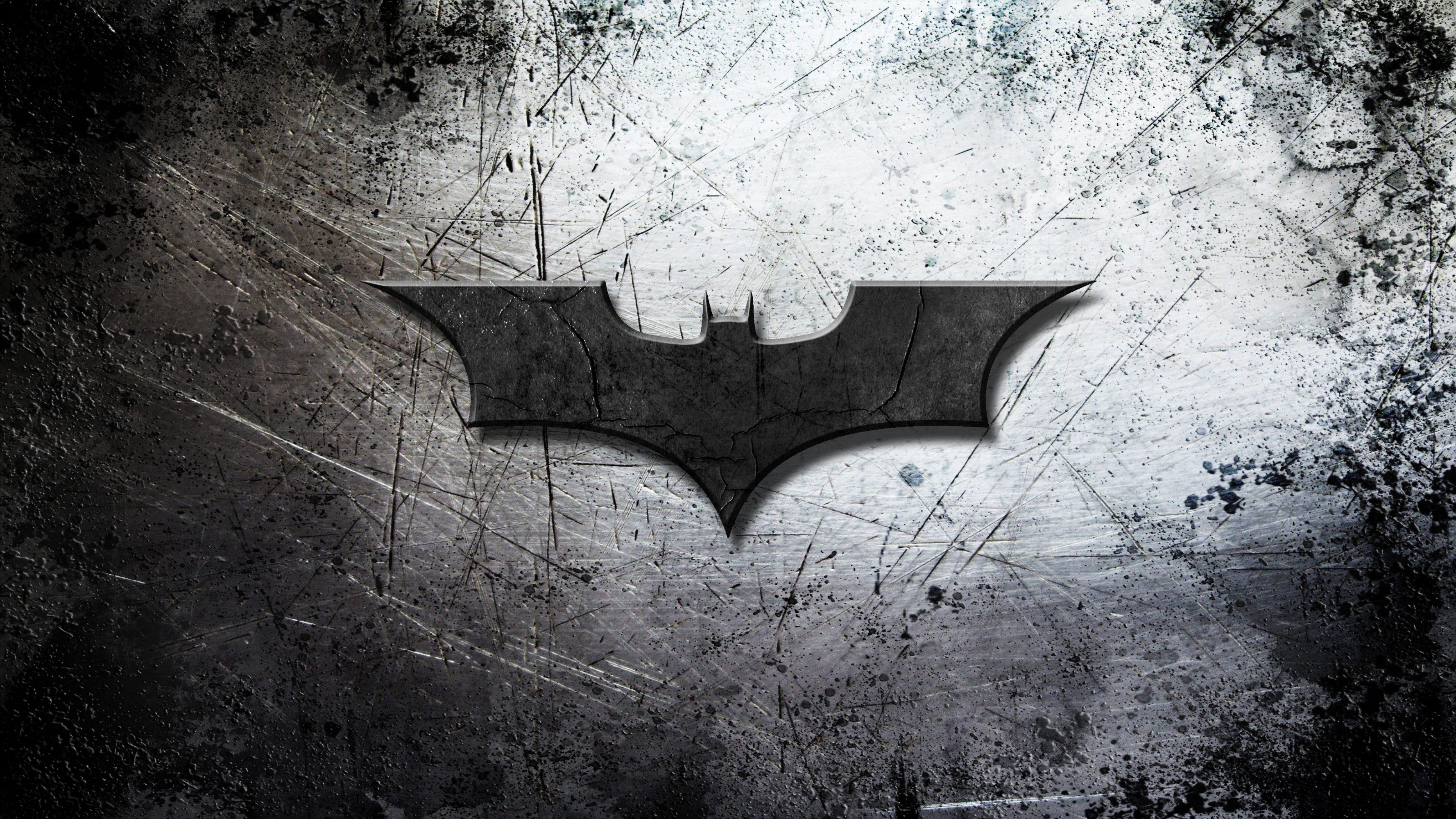Batman Begins Logo 4k Uhd Wallpaper
