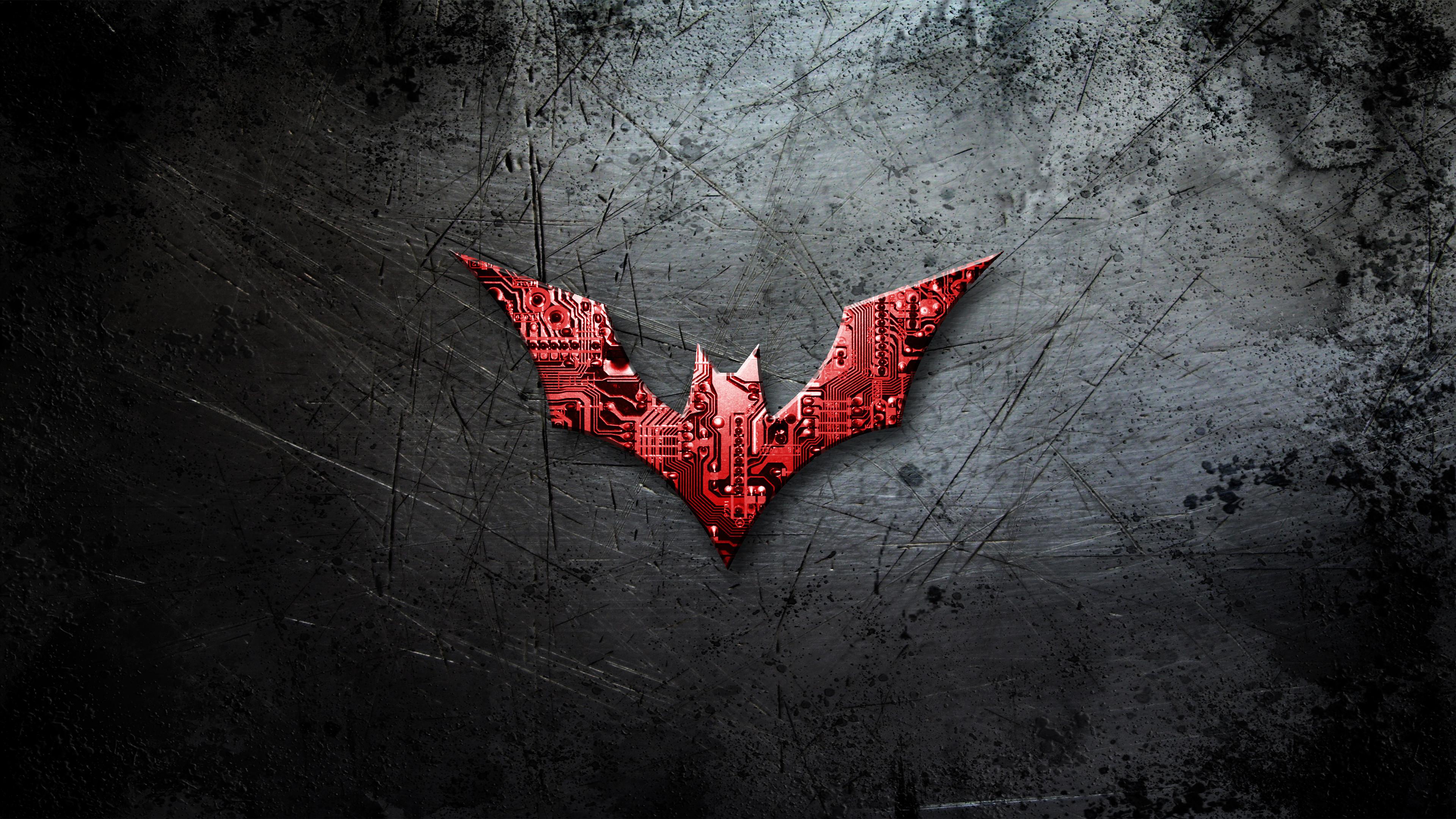 Batman Beyond Logo 4K UHD Wallpaper | Wallpapers.gg Batman Beyond Logo Wallpaper Hd