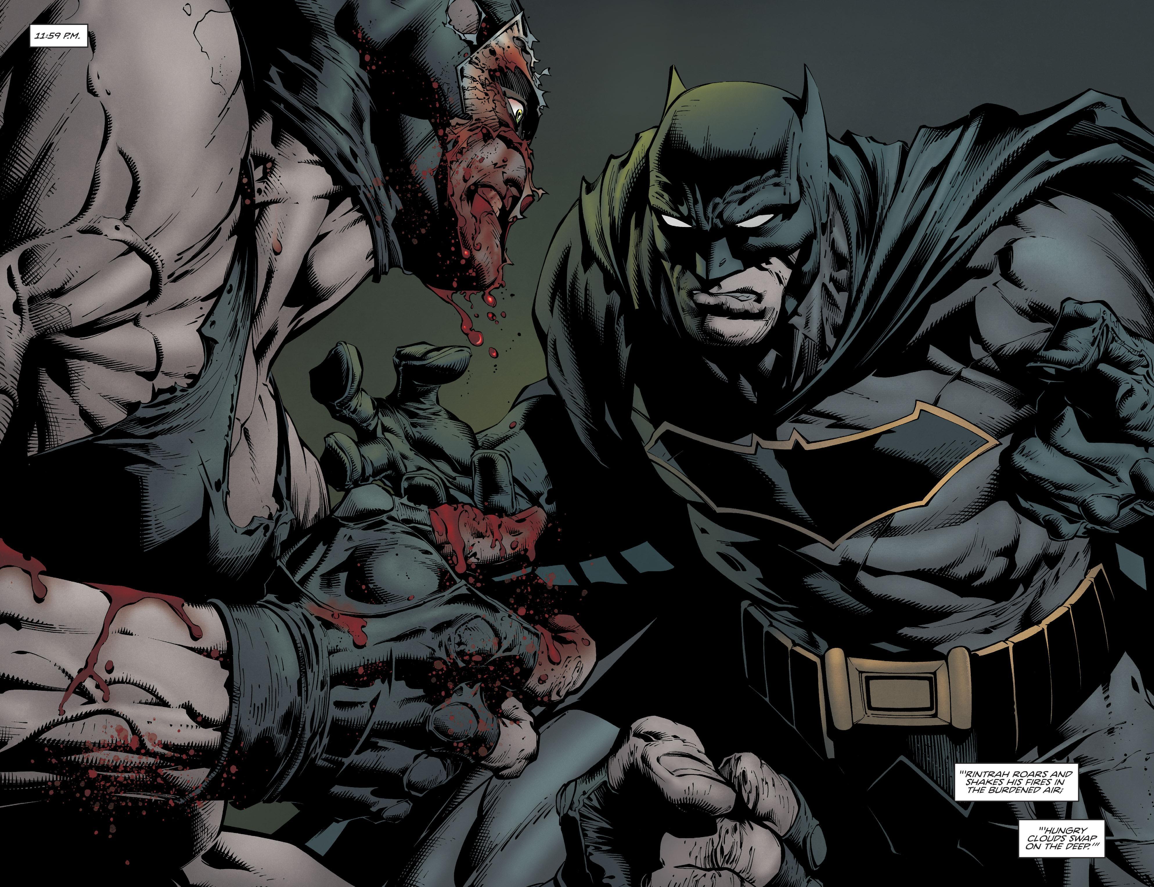 batman vs bane dc comics 4k uhd wallpaper wallpapersgg