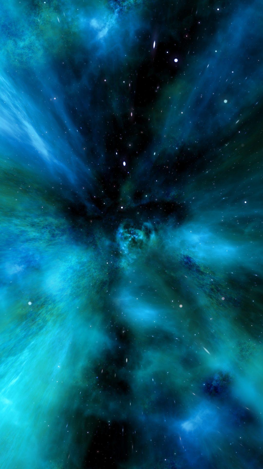 Blue Galaxy 4K