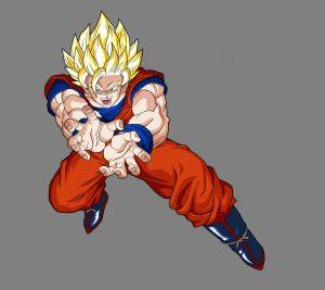 Goku SSJ2 Kamehameha (DBZ) HD