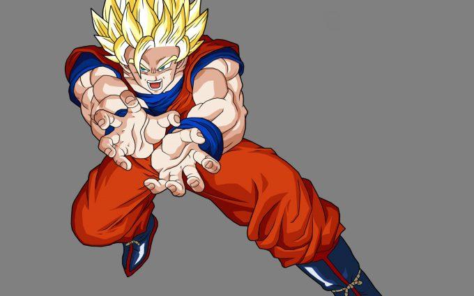 Goku SSJ2 Kamehameha DBZ HD