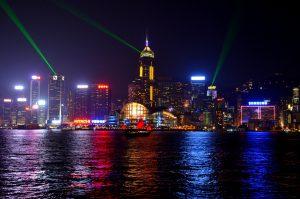 Hong Kong At Night 4K