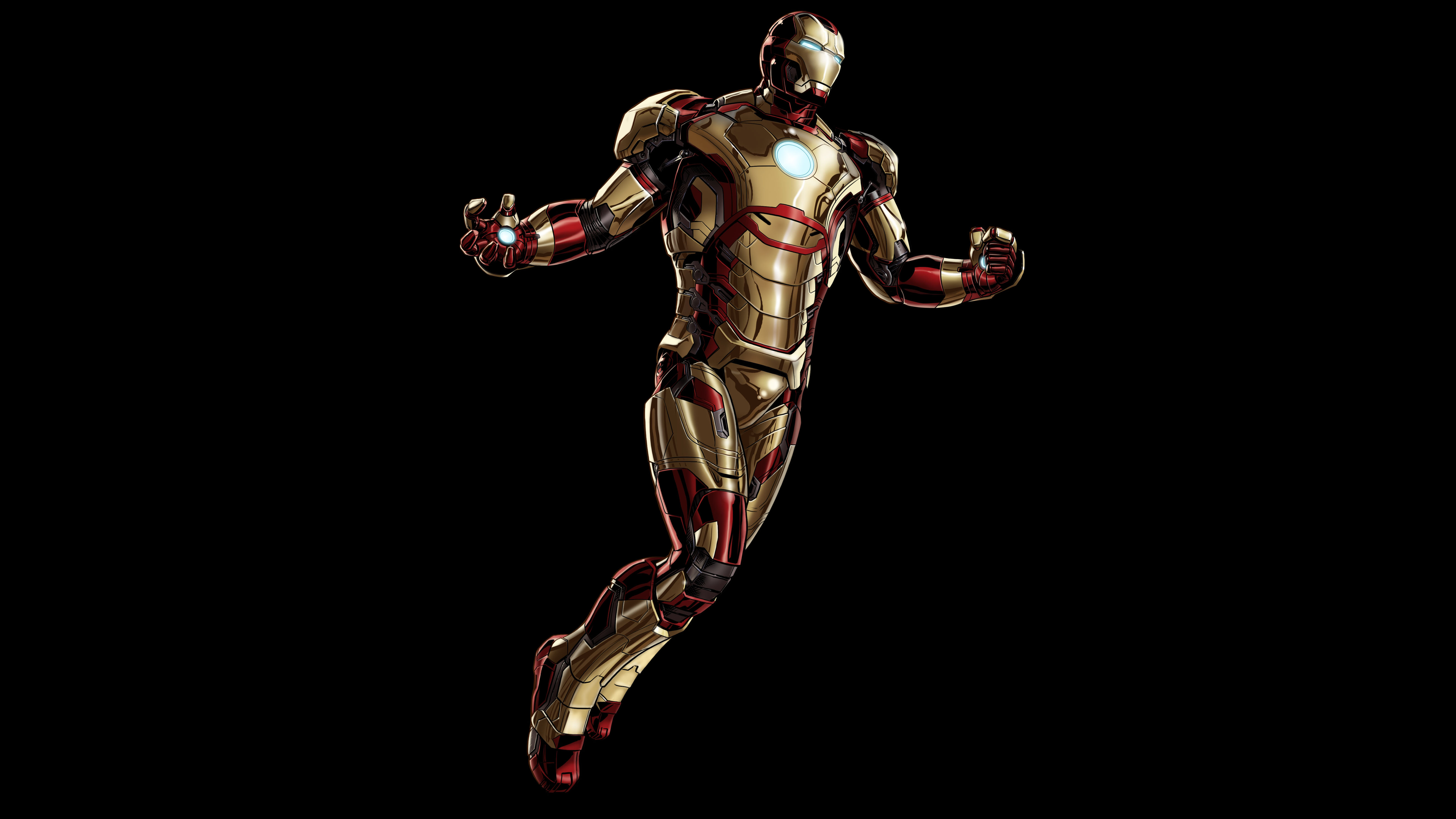 Iron Man Mark 42 (Marvel) 5K UHD Wallpaper HD Wallpaper  Iron Man Mark 4...