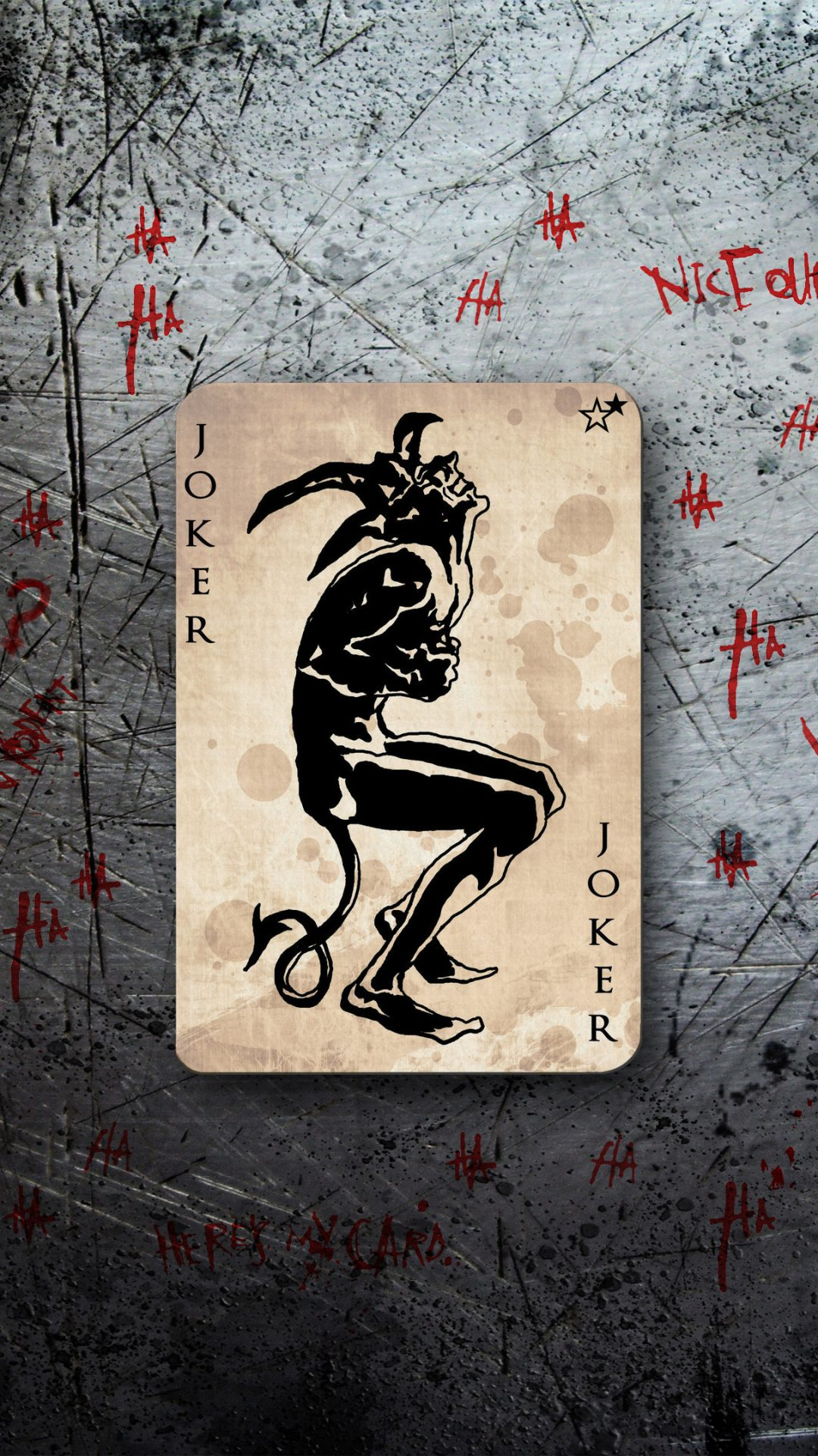 The Joker Card Logo 4k Uhd Wallpaper