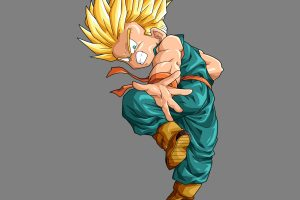 Kid Trunks SSJ (DBZ) 4K