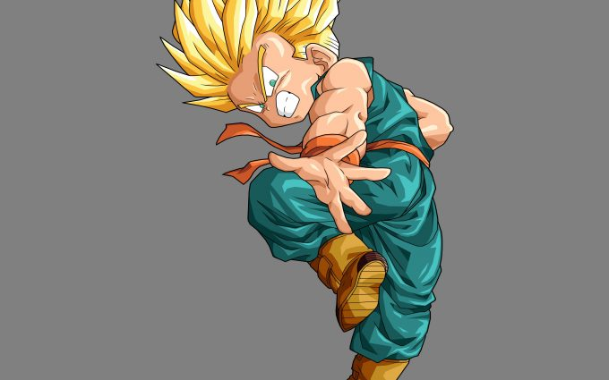 Kid Trunks SSJ DBZ 4K