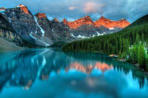 Mountain River Banff National Park 4K